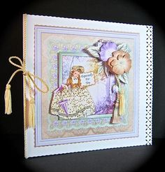 Card Gallery - VINTAGE BELLE in WOODS Topper & Decoupage Mini Kit