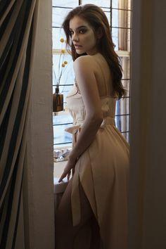 Flaunting her curves, Barbara Palvin models Fendi dress