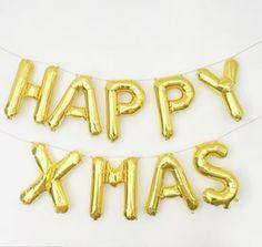 Guirlande Ballons Happy Xmas