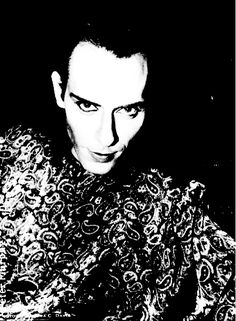 Peter Murphy Love Hysteria times ♥