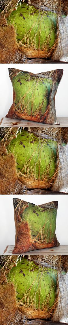 www.etsy.com/ca/shop/CAYOCOCOCUSHIONS Printed Cushions, Decorative Cushions, Couch Cushions, Throw Pillows, Reclaimed Wood Furniture, Green Rooms, Tropical, Interior Design, Prints