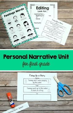 Personal Narrative Writing Lessons for Grade Gr Wtg Workshop Unit Writing Curriculum, Kindergarten Writing, Writing Lessons, Teaching Writing, Writing Ideas, Writing Process, Teaching Ideas, Personal Narrative Writing, Personal Narratives