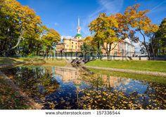 Mikhailovsky Palace, Engineers Castle, St.Petersburg, Russia - stock photo