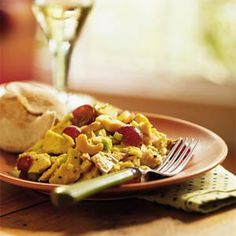 Curry Turkey Salad | MyRecipes.com