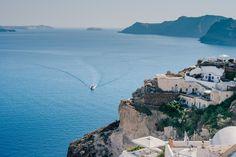 Kristy & Jamie's picturesque Santorini Wedding