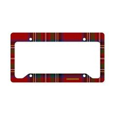Shop Tartan License Plate Frames from CafePress. Find great designs on durable and weather resistant License Plate Frames to make your car stand out! License Plate Covers, License Plate Frames, Tartan Fashion, Stewart Tartan, Plate Holder, Scottie Dog, Tartan Plaid, Favorite Color, Favorite Things