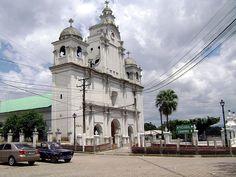 Iglesia de Izalco, Sonsonate, El Salvador, C.A.
