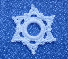 crochet ring snowflake