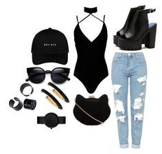 """""""Untitled #563"""" by mone-suarezsmith ❤ liked on Polyvore featuring Boohoo, Topshop, New Look and Chico's"""