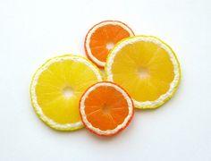 Tuto : Comment faire une tranche de citron ou d'orange en Fimo - Le blog de Miss Kawaii