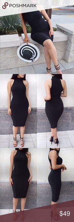 Spotted while shopping on Poshmark: Double Lined Midi Dress! #poshmark #fashion #shopping #style #Dresses & Skirts