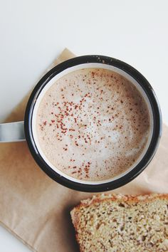 Salted Nutella Latte | The Faux