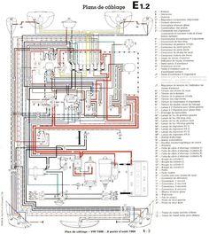 1969 vw beetle wiring diagram vintage volkswagens vintage 69 volkswagen beetle wiring diagram vw 1500 à partir aout 1970