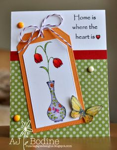 RutabagaPie Designs: Lila Grey Stamps - Home Is Where the Heart Is