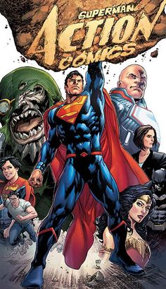 If DC Comics wanted to bring back the past with their Rebirth initiative, they certainly did it with Superman Action Comics: Path of Doom. The comic series spans six issues from Superman Action Comics An old threat has returned for Superman – an. Doomsday Superman, Comic Superman, First Superman, Superman Action Comics, Superman Family, Superman Stuff, Superman News, Supergirl Superman, Comic Superheroes