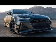 New Audi Avant by ABT Sportsline - The car has the torque is 920 NM, and the tested acceleration times Audi A6 Rs, Audi Rs6, Audi Rs7 Sportback, Bmw X4, Automotive Photography, S Car, Top Cars, Car Tuning, Latest Cars
