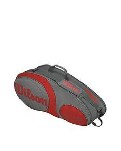 Wilson Borsa Tennis Team 6Pk Bag Gurd  [Grigio/Rosso]