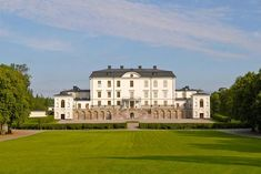 Rosersberg Palace is a royal residence with furnishings intact from the reigns of Karl XIII and Karl XIV Johan. The Oxenstierna family built the. Royal Residence, Casa Real, Luxury Estate, Castle House, Beautiful Castles, Empire Style, Royal Palace, Far Away, Stockholm