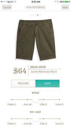 Dear John Jolene Bermuda Short.