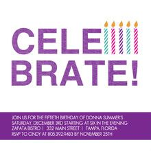 Cute Cheap Birthday Invitation For Any Age Birthdayinvitation Adultbirthday Party