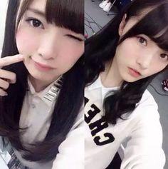 Omori Miyu and Shiraishi Mai, both have the same bangs and the same perfect porcelain skin • 投票の選択肢→ これが白石麻衣さん, これは白石麻衣さん