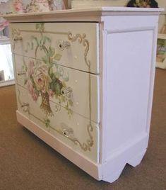 Resultado de imagem para painted furniture