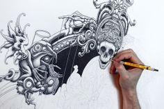 Skull & boh
