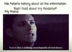 All my fandoms