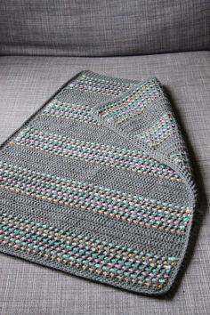 tutorial crochet blanket