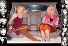 Shirley Manson and Debbie Harry