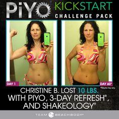 Kick-start your transformation with The PiYo Kickstart Challenge Pack - Shakeology