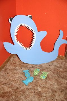Feed the Shark! my boys would love this.