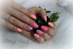 Mirror Effect Foil <3 #nails #paznokcie #semilac #indigo #shine #bright #like #a #diamond #mirroreffectfoil #efektszkła #efektlustra #szklane paznokcie #pink #różowe #brzoskwiniowe #peach #hybrydy