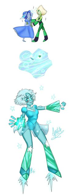 Commission - Apatite w/limb enhancers by 2Mummu on DeviantArt <<<my fav so far ^ ^