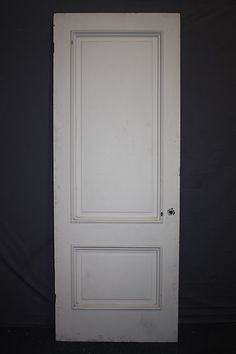 Set Of 6 Tall Elegant Raised Molding Antique Panel Doors 7 1 2 Ft Tall |