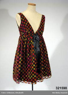 Evening dress, Mary Quant, 1966-1967.