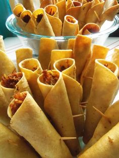Taquitos.Flautas and Dorados - Hispanic Kitchen. Pinner Notes (Sarah S.)- YES PLEASE!! These are SO expensive to buy (frozen).. so. to be able to make my own AND control what all goes into them… PURE GENIUS! View The Recipe Details