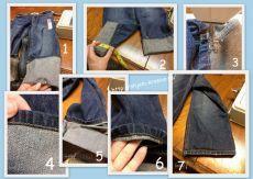 Красиво шить не запретишь! » Архив блога » «Быстрый» способ подшивания джинсов…