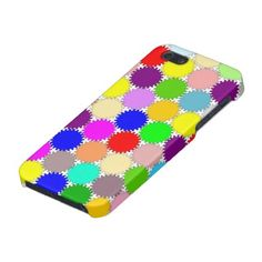 Cool And Colorful Cogs iPhone 5 Case #iphone #case #cogs