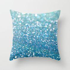 "Lagoon Throw Pillow by Lisa Argyropoulos – cover ""x with pillow insert – inner pillow – diy kid room decor Mermaid Bedroom, Unicorn Bedroom, Cinderella Bedroom, Mermaid Pillow, Cute Bedroom Decor, Bedroom Themes, Bedroom Ideas, Dream Bedroom, Girls Bedroom"
