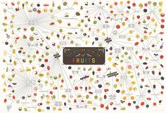 A look at a new #infographic from the #PopChartLab that features over 300 different culinary #fruits - http://finedininglovers.com/blog/food-drinks/fruit-poster/