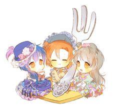Honoka, Kotori & Umi
