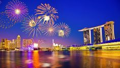 New Year's Eve Fireworks in HD | Celebrating New Years Eve 2015 in Asia