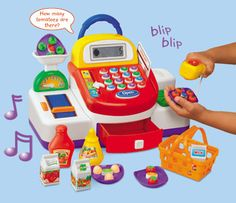 Let's Go Shopping! Cash Register at Toys to Grow On Caroline / $34.99