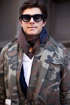 Camo as fashion
