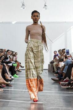 Imane Ayissi e i tessuti africani