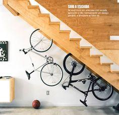 Suportes para bicicleta ou novo item de decoração?