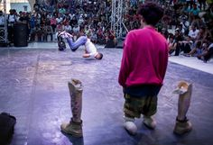 The amputee breakdancer from Tunisia – in pictures