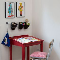 Creative corner in a boy's room | decorating | Style at Home | Housetohome.co.uk