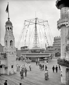 <b>Victorians loved a good amusement park.</b> Spending exorbitant amounts of money to queue in long lines in the hot sun for 30 seconds of adrenaline is a summer tradition.